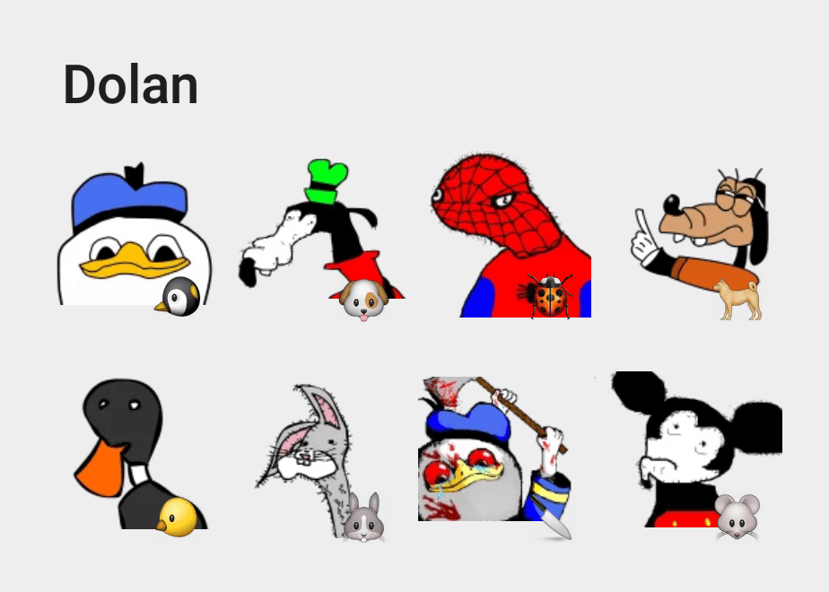Dolan-sticker-pack