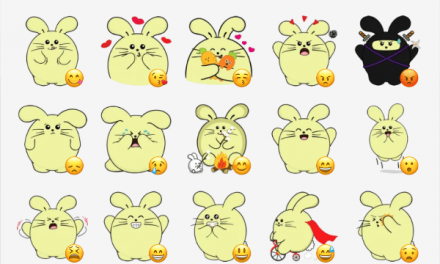 Fat Rabbit sticker pack