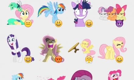 My Little Pony Sticker Set
