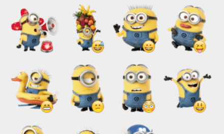 Minions sticker pack