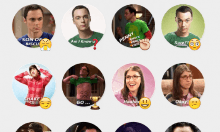 The Big Bang Theory sticker pack