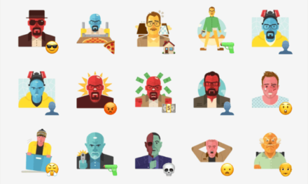 Breaking Bad sticker set
