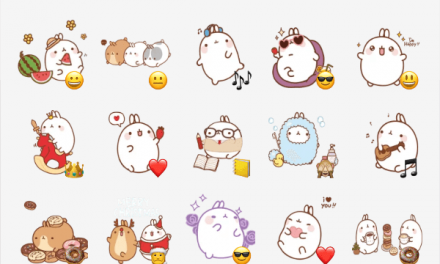 Molang sticker pack