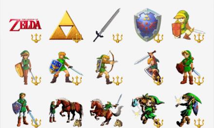 The Legend Of Zelda sticker pack