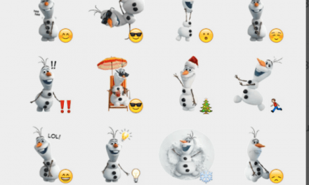 Olaf from Frozen sticker pack