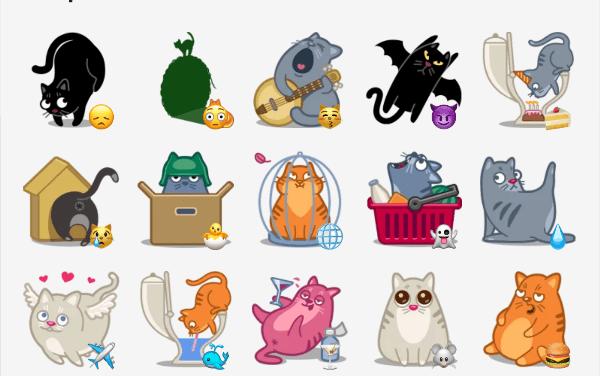 Catpower sticker pack