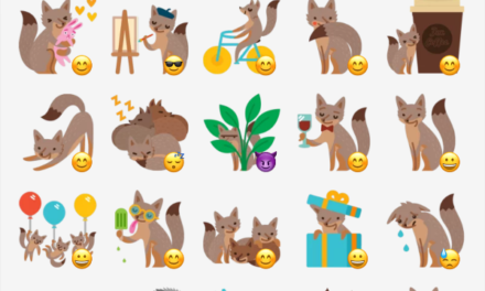 Foxes sticker pack