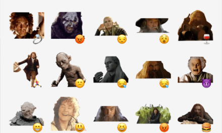 Lord Of The Rings sticker pack
