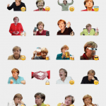 Merkel sticker pack