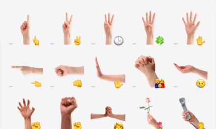 Hands sticker pack