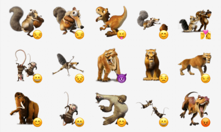 Ice Age sticker pack!