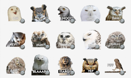 Talking Owls sticker pack