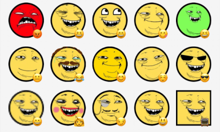 Yoba face sticker pack