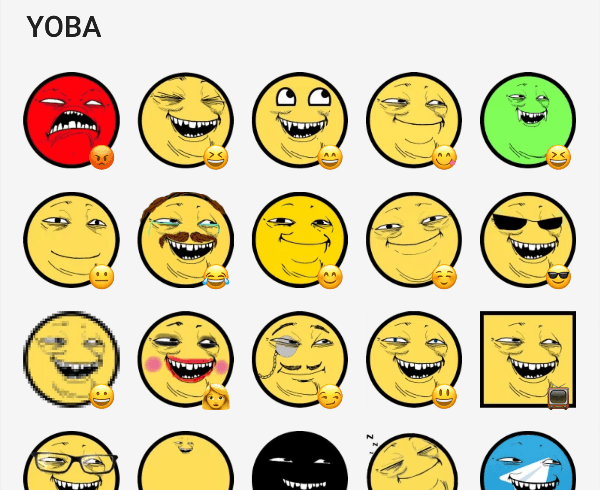 yoba-face-sticker-pack