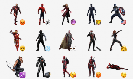 The Avengers sticker pack