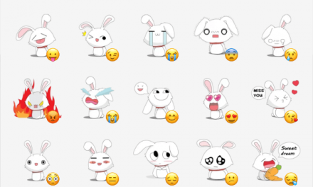 Funny Bunny sticker pack