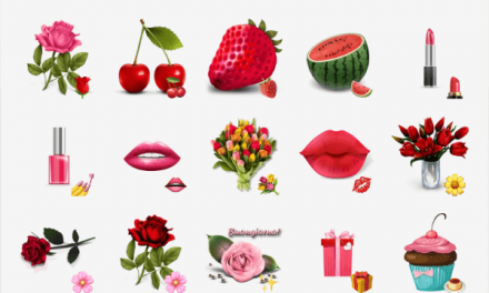 Lovely Flowers sticker pack
