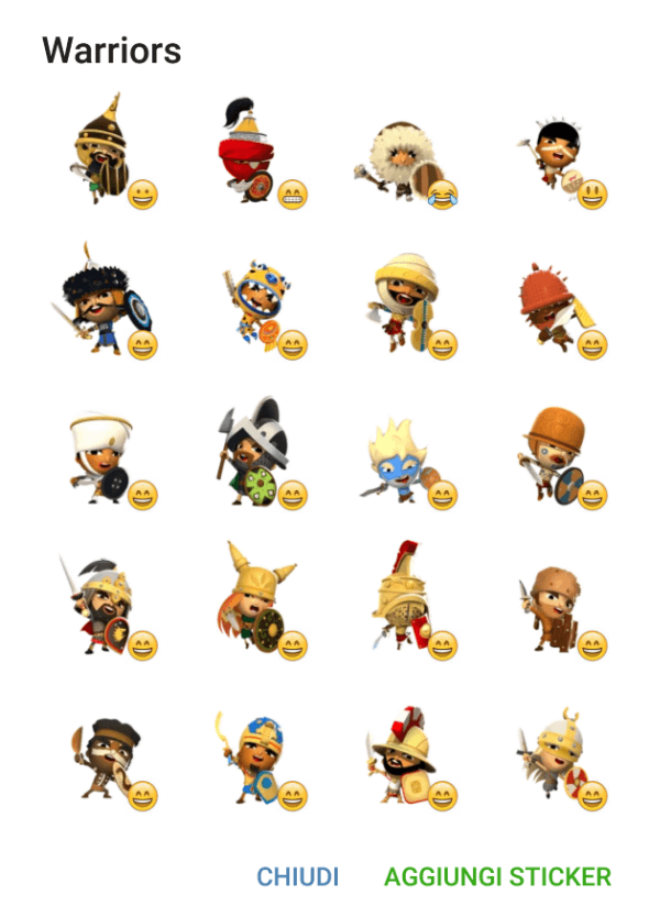 world-of-warriors-sticker-pack