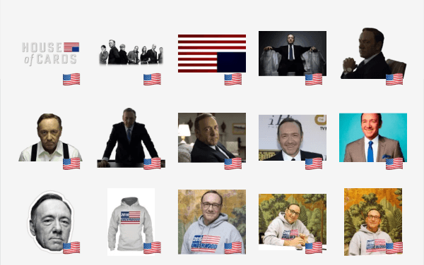 House of Cards sticker pack