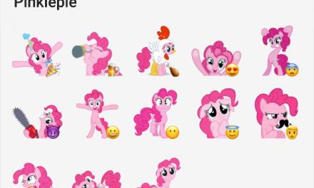 Pinkiepie sticker pack