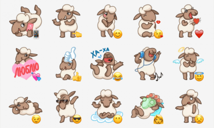 Flinn the sheep sticker pack