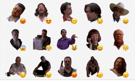 Big Lebowski sticker pack