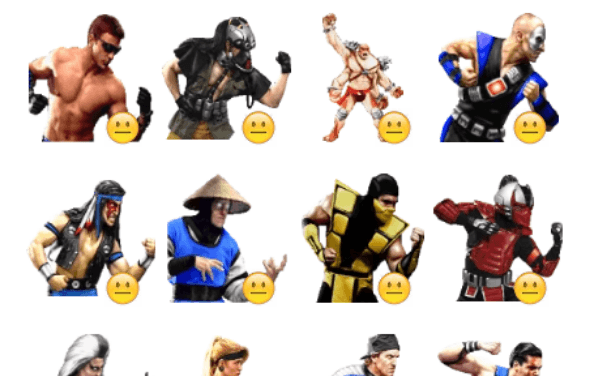 Mortal Combat sticker pack