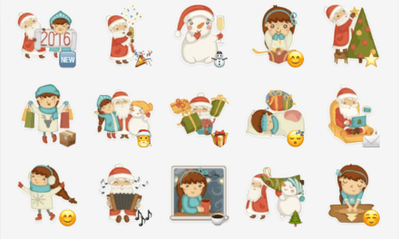 Christmas and New Years Eve Sticker Pack Collection
