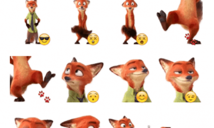 Nick Wilde sticker pack
