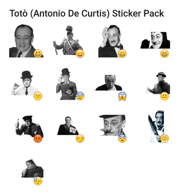 toto-antonio-de-curtis-sticker-pack