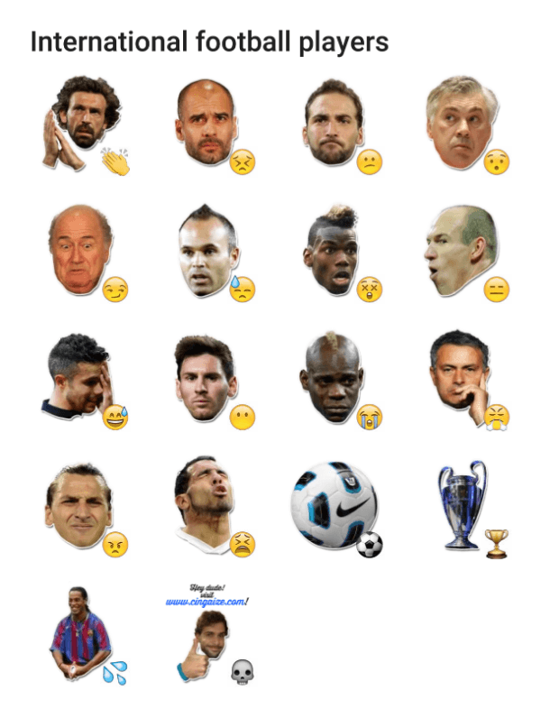 international-football-stars-sticker-pack