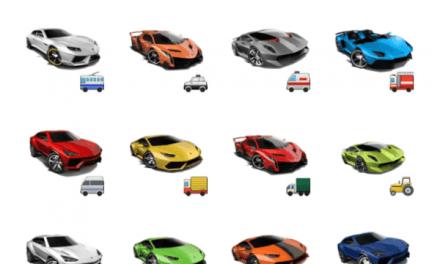 Lamborghini sticker pack