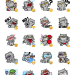 Meow Sticker Pack