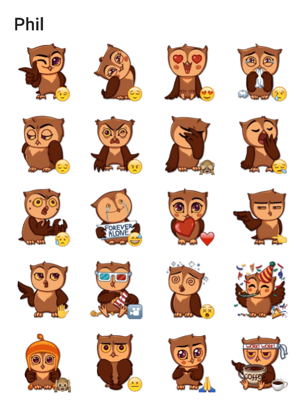 phil-the-owl-sticker-pack