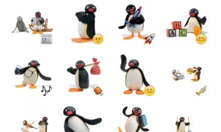 Pingu sticker pack