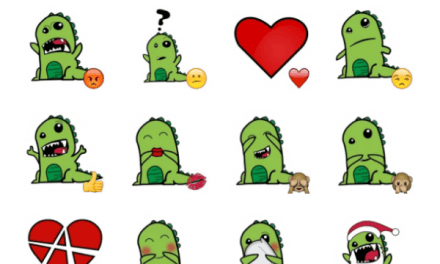 RawR Dinosaur sticker pack