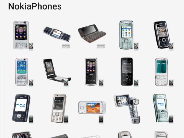 Nokia Phones telegram stickers