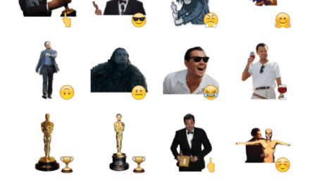 Di Caprio Oscar Winner sticker pack
