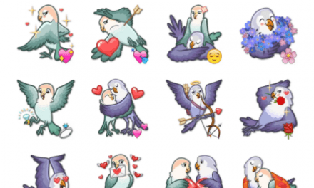 Love Birds Sticker Pack