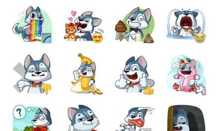 Archie the Dog Sticker Pack