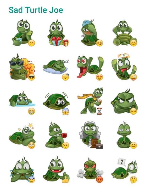 sad-turtle-sticker-pack