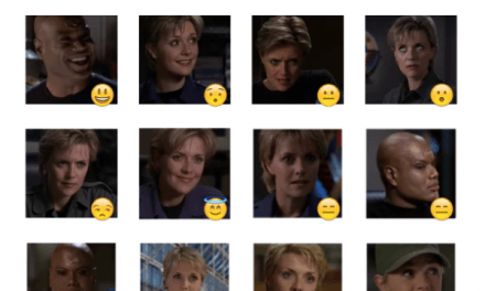 Stargate SG-1 Sticker Pack