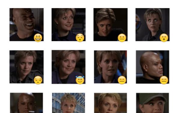 Stargate SG-1 Sticker Pack