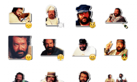 Bud Spencer and Terence Hill Sticker Pack