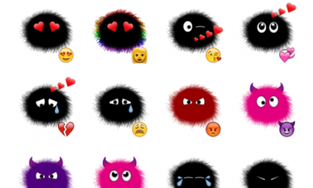 Soot Emoji Sticker Pack