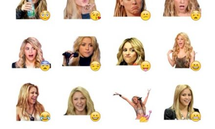 Shakira Sticker Pack