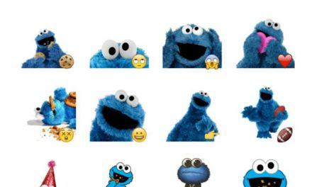 Cookiemonster Sticker Pack