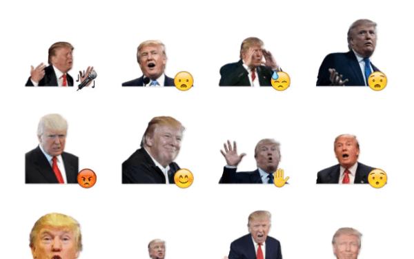 Donald Trump'd Sticker Pack