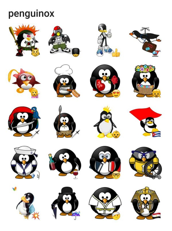 penguinox-sticker-pack