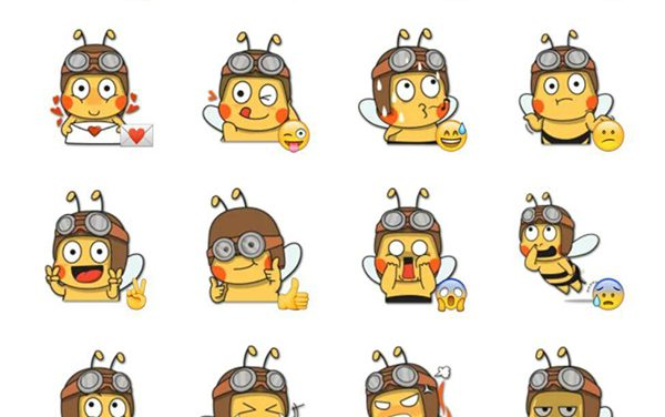 Sweebee Sticker pack